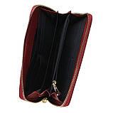 Женский кожаный кошелек Keizer K12707-red, фото 5