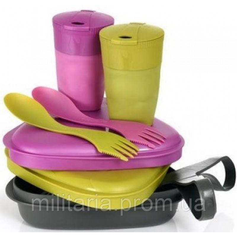 Набор посуды Light My Fire Pack'n Eat Kit,Pirategold/Pinkmetal  разноцветный( 50686440)