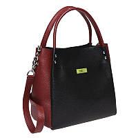 Женская сумка кожаная Ricco Grande 1L908x-black