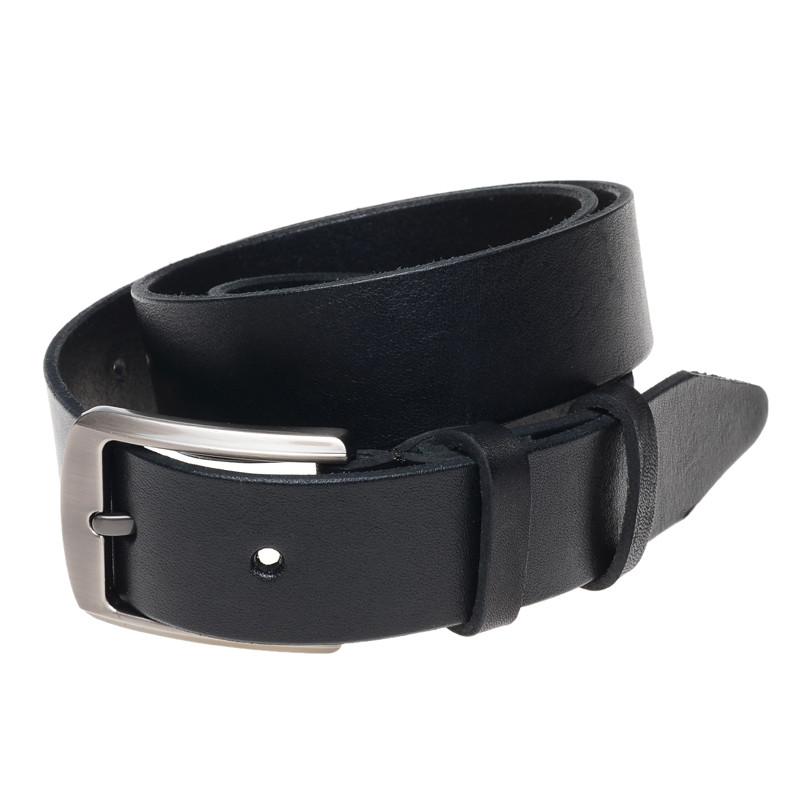Ремень кожаный Borsa Leather 115r1mkn4-black