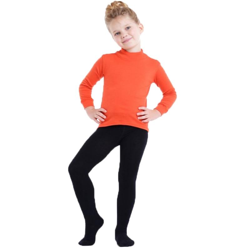 Термоколготки детские NORVEG Merino Wool (размер 74-80, чёрный)