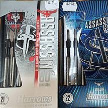 Дротики дартс Assassin Harrows Англия 21, 22 и 23 грамма, фото 2