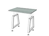Стол обеденный Бинго Оверлайт Loft Металл-Дизайн, фото 4