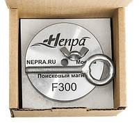 Односторонний поисковый магнит НЕПРА F300, усилие на отрыв 400кг ТРОС В ПОДАРОК
