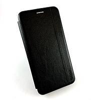 Чехол книжка противоударный боковой Gelius Leather для Huawei P30 Lite черный