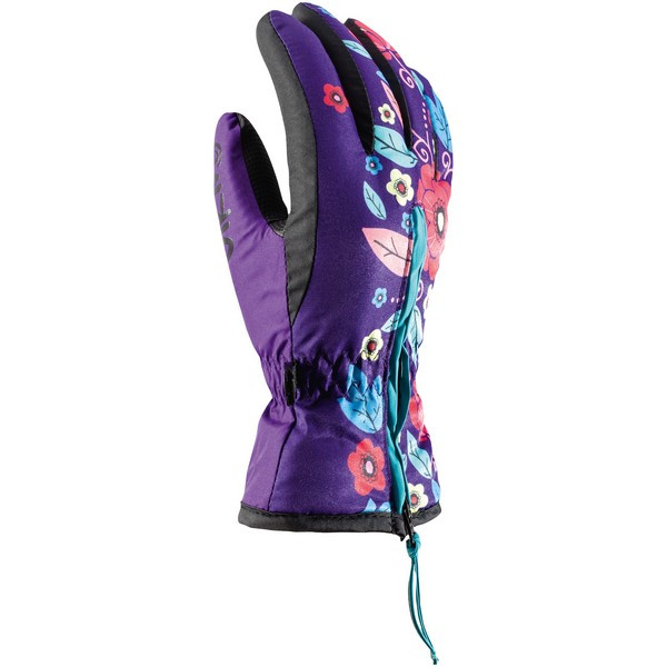 Гірськолижні рукавички Viking Poppy фіолетові | розмір 3,4