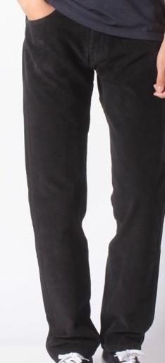 Вельветовые брюки Levis 505 - Mineral Black