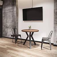 Стол обеденный Свен 3 ноги Loft Металл-Дизайн