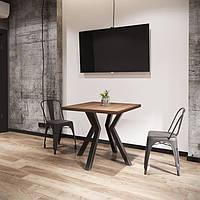 Стол обеденный Свен 4 ноги Loft Металл-Дизайн