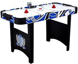 Игровой стол аэрохоккей MD Sports - 122 x 60 x 76 cм, c электронным LED счетчиком