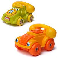 Каталка Телефон игрушечный середній  -/44 Максимус, Maximus