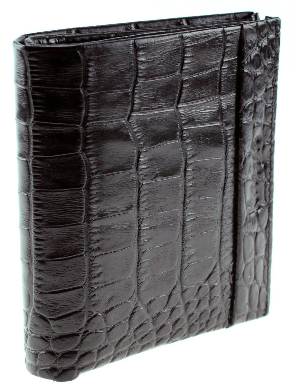 Кошелек с зажимом Karya 0940-053 кожаный черный