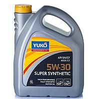 Масло YUKO SUPER SYNTHETIC С3 5W-30 4л.