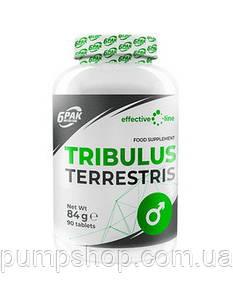 Трибулус екстракт 6PAK Nutrition EL Tribulus Terrestris 90 капс.