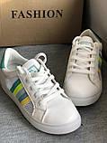 Нежные, мятные полосатые кеды, кроссовки, туфли в наличии, фото 5