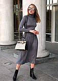 """Женский стильный костюм с юбкой 700 """"Трикотаж Люрекс Плиссе"""" в расцветках, фото 8"""