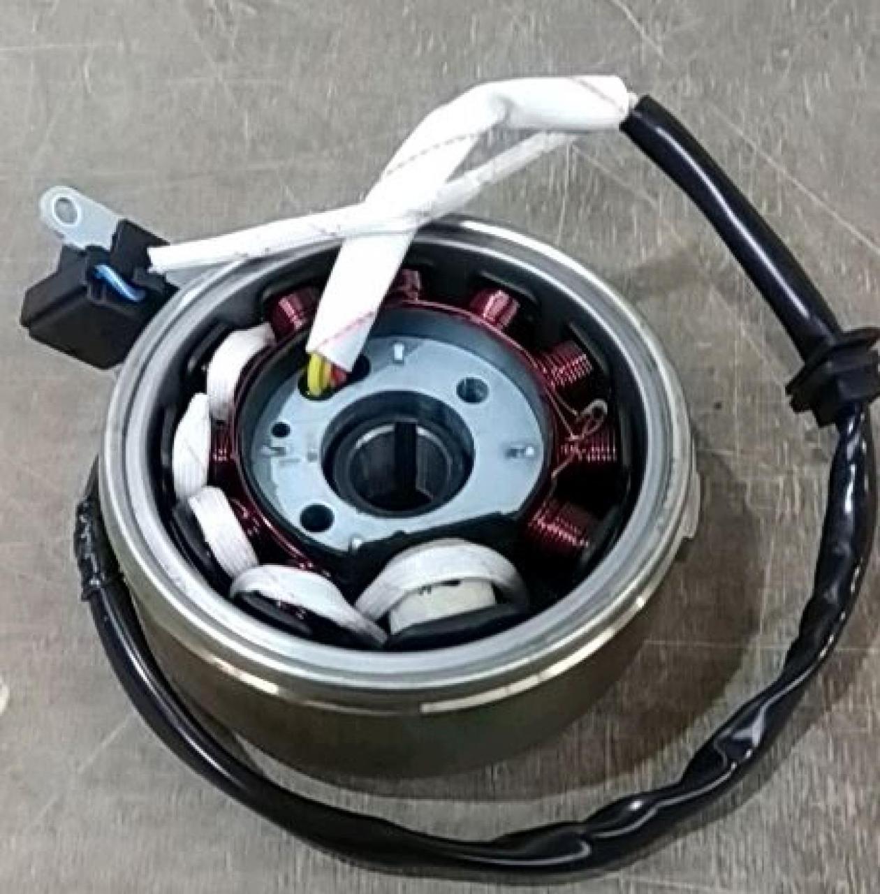 Генератор на Китайский Скутер 4Т 4-х тактный (Gy6) 125/150 (10+1 катушка) PLT