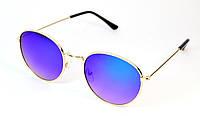 Солнцезащитные круглые детские очки (0402 зел)
