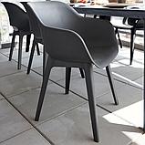 Стул садовый уличный Allibert Akola Duo Dining Chair Graphite ( графит ), фото 3