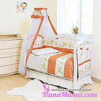 Детское постельное белье в кроватку Twins Comfort Мишки со звездами, фото 1