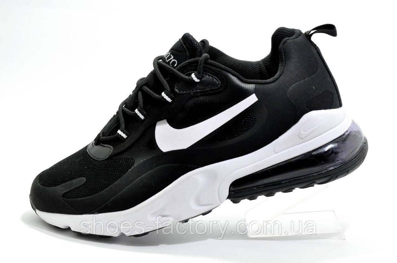 Мужские кроссовки в стиле Nike Air Max 270 React, Black\White