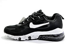 Мужские кроссовки в стиле Nike Air Max 270 React, Black\White, фото 2