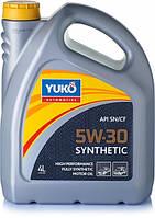 Масло моторне YUKO SYNTHETIC 5W-30 4л.