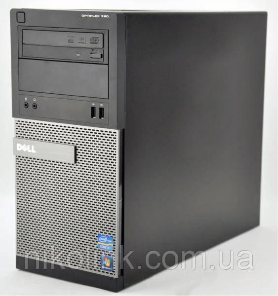 Компьютер Dell Optiplex 390 Tower (i7-2600 / память 16GB / SSD 120GB + HDD 500GB / RX 550 2GB) Б/У