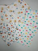 Пеленка фланель 90х90, детские пеленки, пеленки для новорожденных