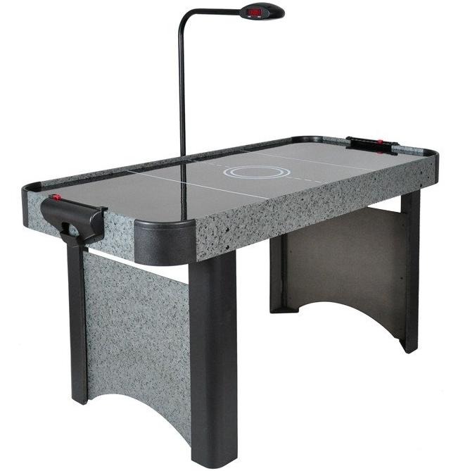 Аэрохоккей Master 5 c электронным LED счетчиком и глянцевым игровым полем - 156 x 78 x 80см