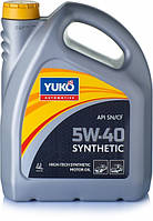 Масло моторне YUKO SYNTHETIC 5W-40 4л.