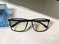 Очки для компьютера, квадратные компьютерные очки ЕАЕ 2152 черные, фото 1