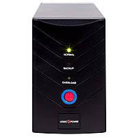 ИБП LogicPower LP 850VA, Lin.int., AVR, 2 x евро, металл