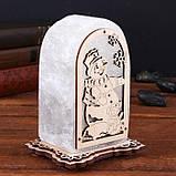 Соляной светильник Арка Снеговик+мышка, фото 2