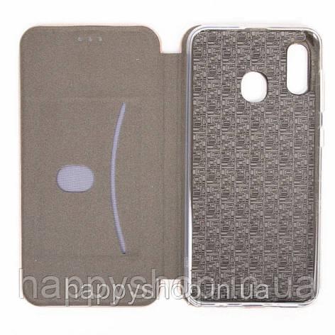 Чехол-книжка G-Case для Samsung Galaxy A20 (SM-A205) Серый, фото 2