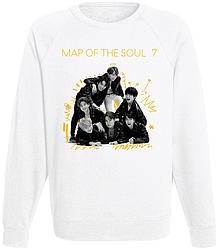 Свитшот BTS Bangtan Boys - Map of the Soul: 7 (белый)