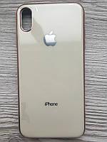 Чехол силиконовый Soft Case для iPhone XS MAX (Бежевый)