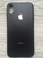 Чехол силиконовый Soft Case для iPhone XS MAX (Черный)