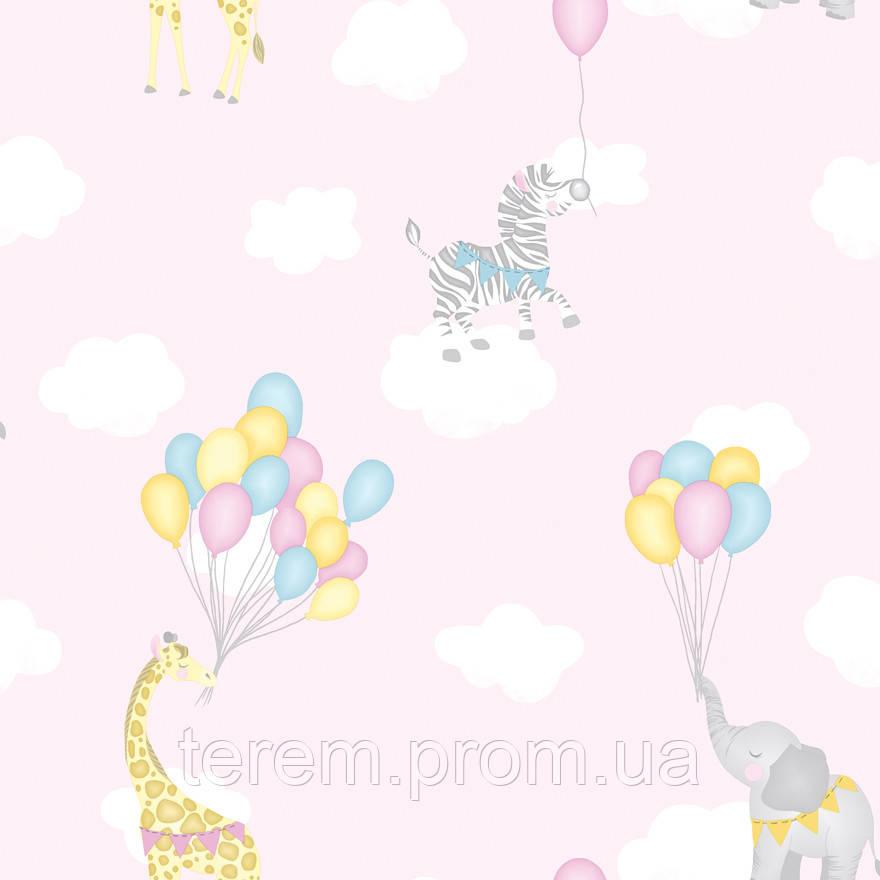 Animal Balloons Pink