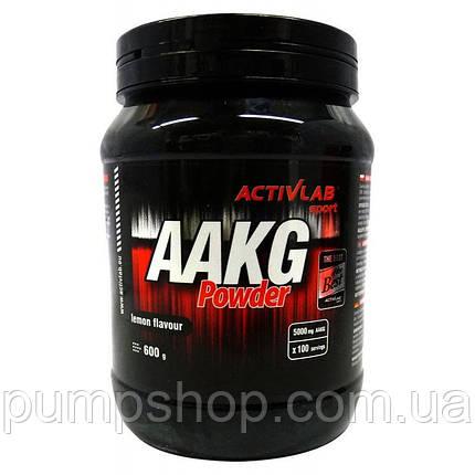 Аргинин альфа-кетоглутарат Activlab Black AAKG Powder 600 г, фото 2