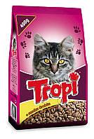 Сухой корм для кошек TROPI с курицей 400 гр