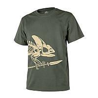 ФутболкаHelikon-Tex® T-Shirt (Full Body Skeleton), Olive