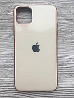 Чехол силиконовый Soft Case для iPhone 11 Pro MAX (Бежевый)