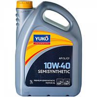 Масло моторне YUKO SEMISYNTHETIC 10W-40 5л.