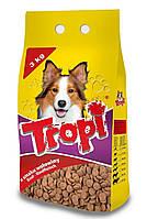 Сухой корм для собак TROPI с говядиной 3 кг