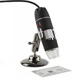 Цифровой микроскоп USB Magnifier SuperZoom увеличение 50-500X, подключение по USB, черный