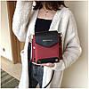 Женская темно-красная сумка JINGPINPIJU, фото 4