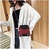 Женская темно-красная сумка JINGPINPIJU, фото 8