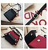 Женская темно-красная сумка JINGPINPIJU, фото 10
