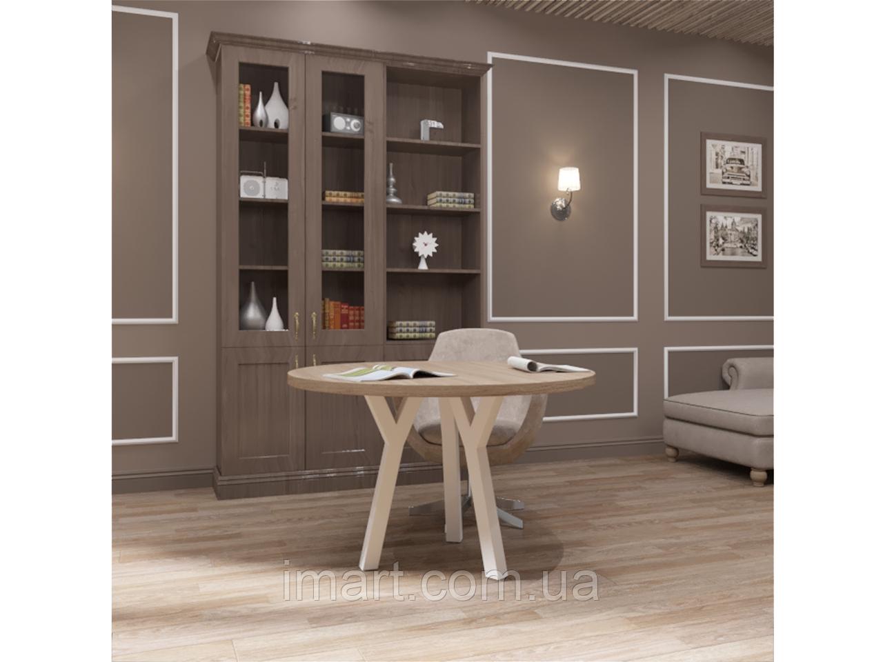 Стол обеденный Уно 3 ноги Loft Металл-Дизайн